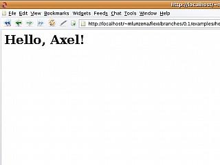 hello axel