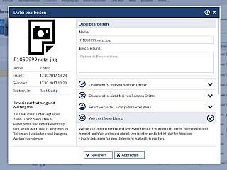 Dateibereich Datei Bearbeiten