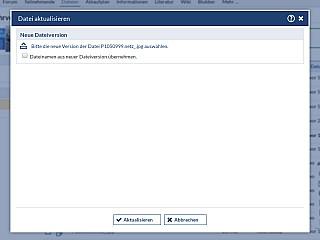 Dateibereich Datei Aktualisieren