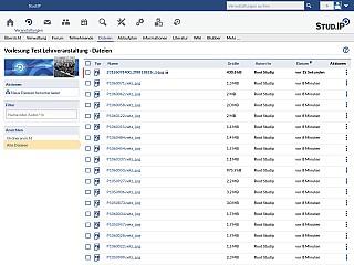 Dateibereich Veranstaltungen Alle Dateien