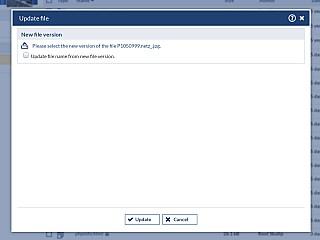 FileArea UpdateFile