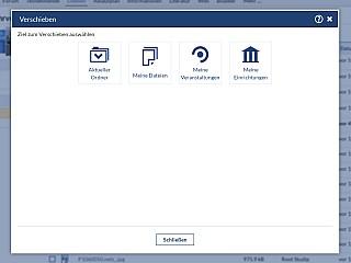 Dateibereich Datei Verschieben